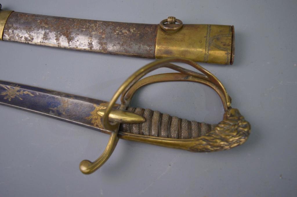 sabre de cavalerie continental Lion_h10