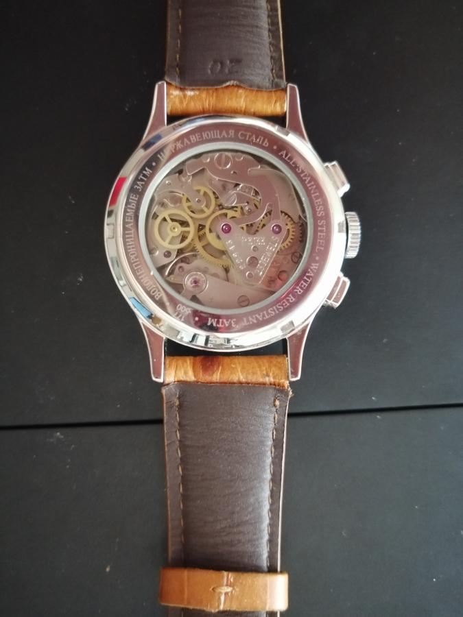 [VENDU] Poljot Strela Chronographe Caseba10