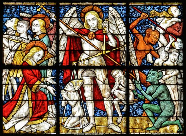 Origine de la Saint Michel , Et par Saint-Michel, vive les paras 1280px10