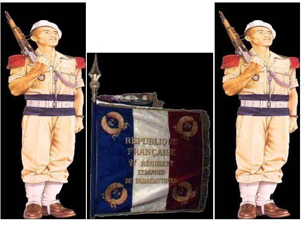 Les Parachutistes vietnamiens Drapea12