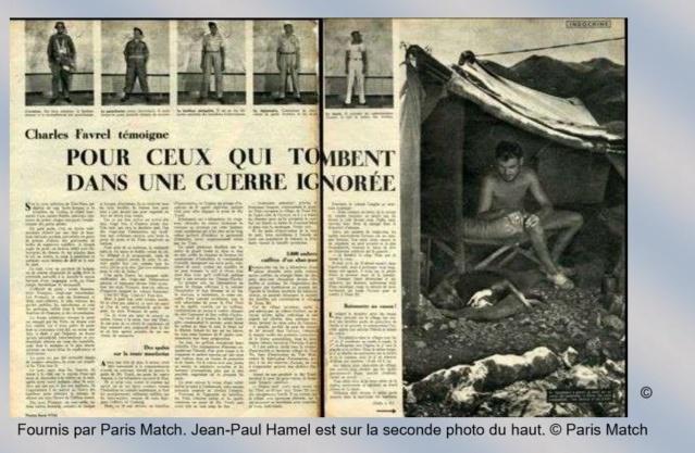 Jean Paul Hamel et Paris Match du 28 octobre 1950 Hamel10