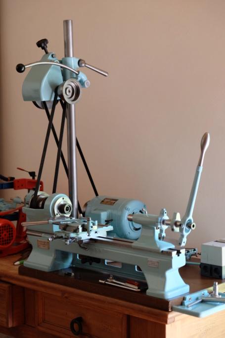 projet de tournage de pièce de lutherie (bois), en copiage, recherche de matériel Dscf9810