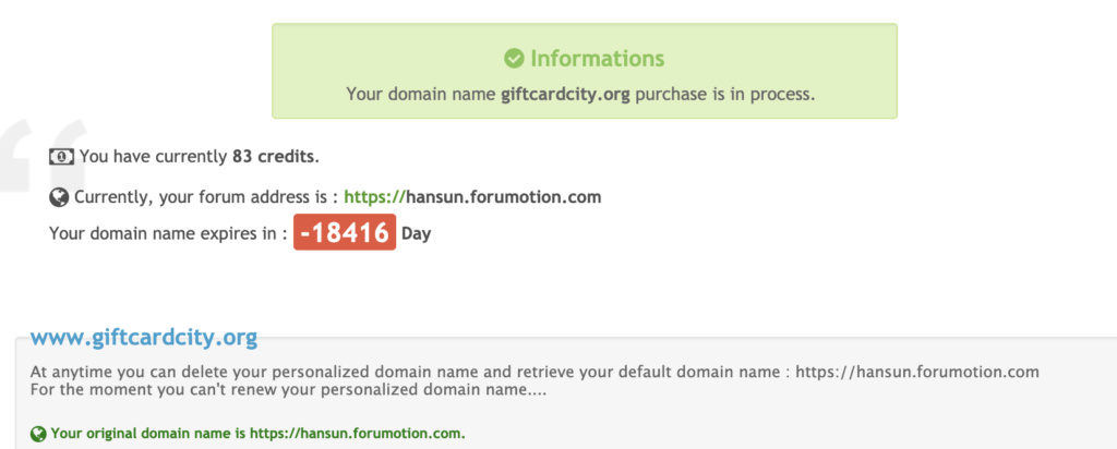 This domain has expired and is pending renewal or deletion. Screen11