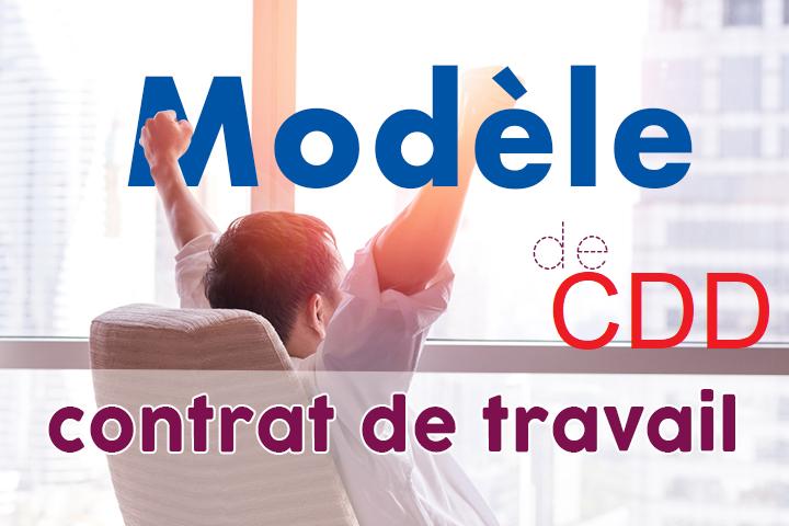 MODELE DE CONTRAT DE TRAVAIL A DUREE DETERMINEE CDD Cdd10