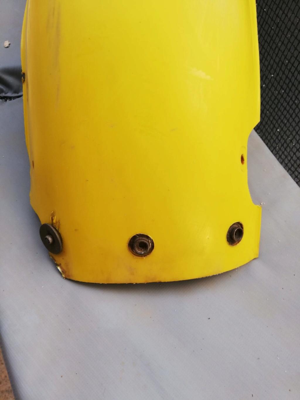 Protector plastico remaxado guardabarros trasero  M 82 TT Palafa14