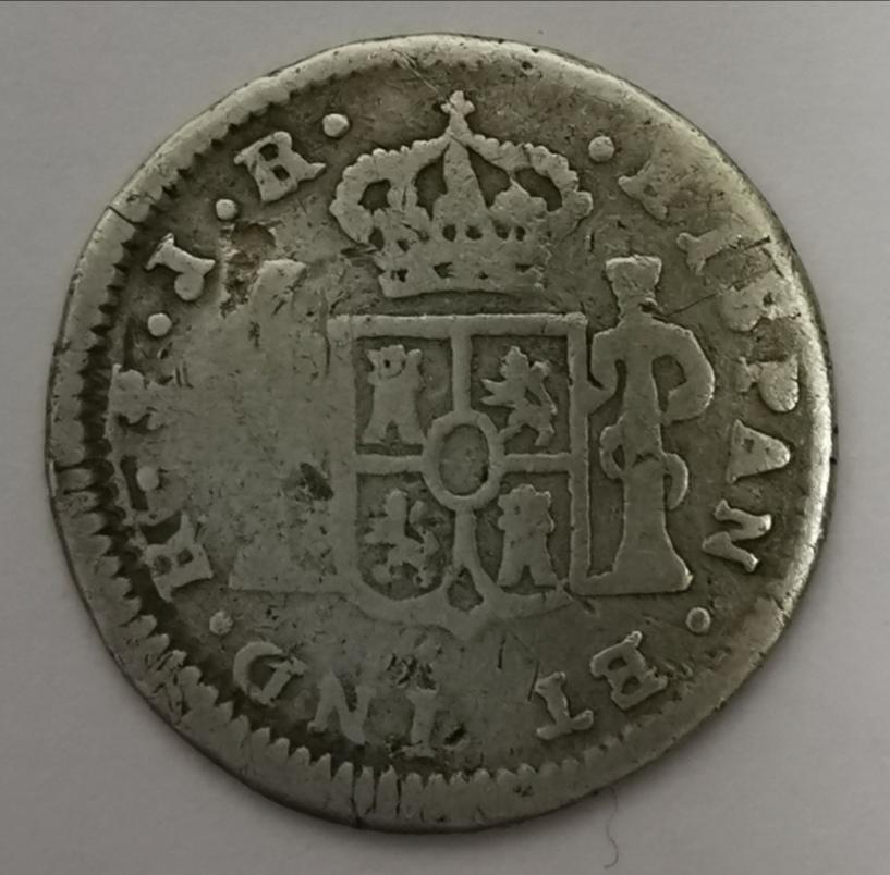 1/2 Real Carlos III - 1773 Img_2055