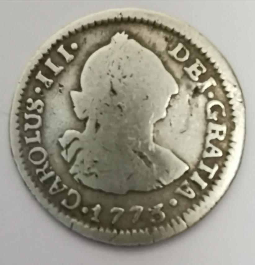 1/2 Real Carlos III - 1773 Img_2056