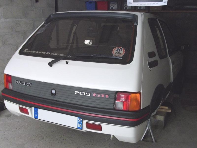 [60] 205 GTI 1L9 - 130cv -  AM87 - Blanc Meije 76975510