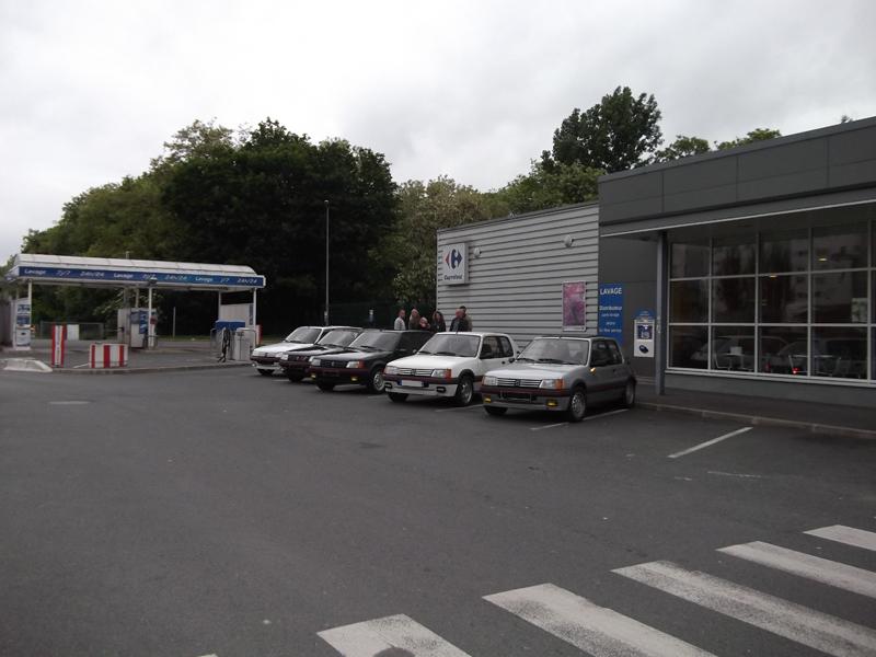 [60] 205 GTI 1L9 - 130cv -  AM87 - Blanc Meije 910