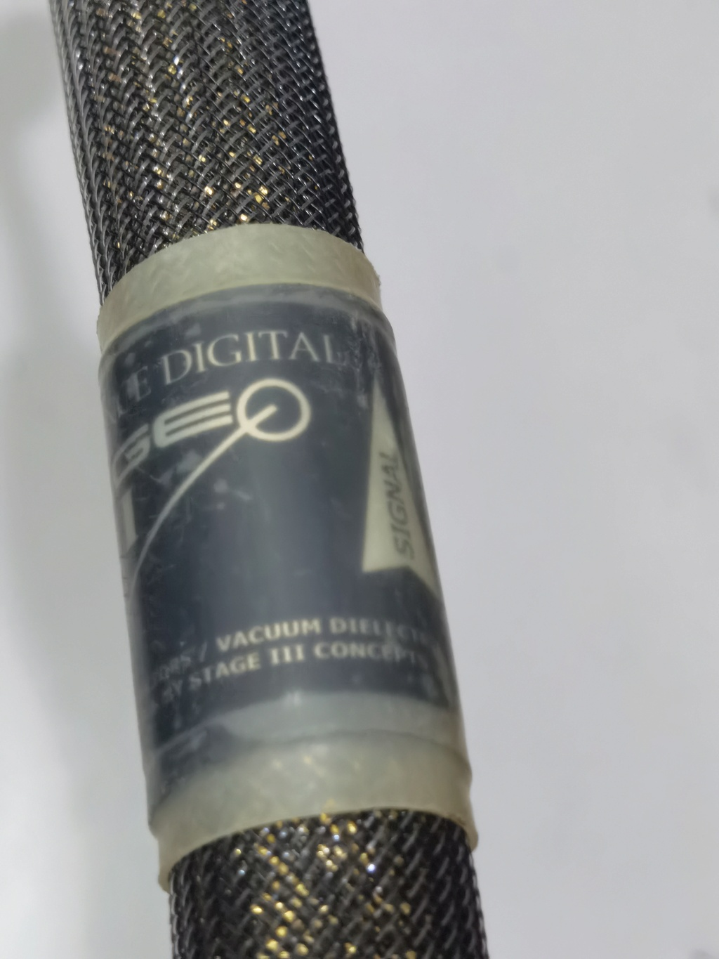 Stage lll vacuum reference xlr digital cable (used)  Img_2078