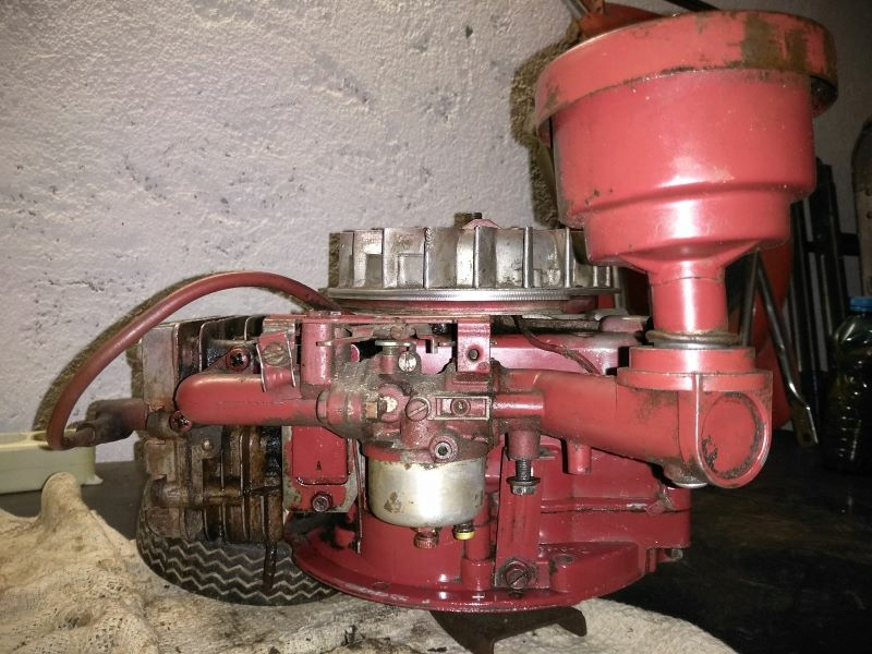 Info motore vecchio rasaerba Toro C11