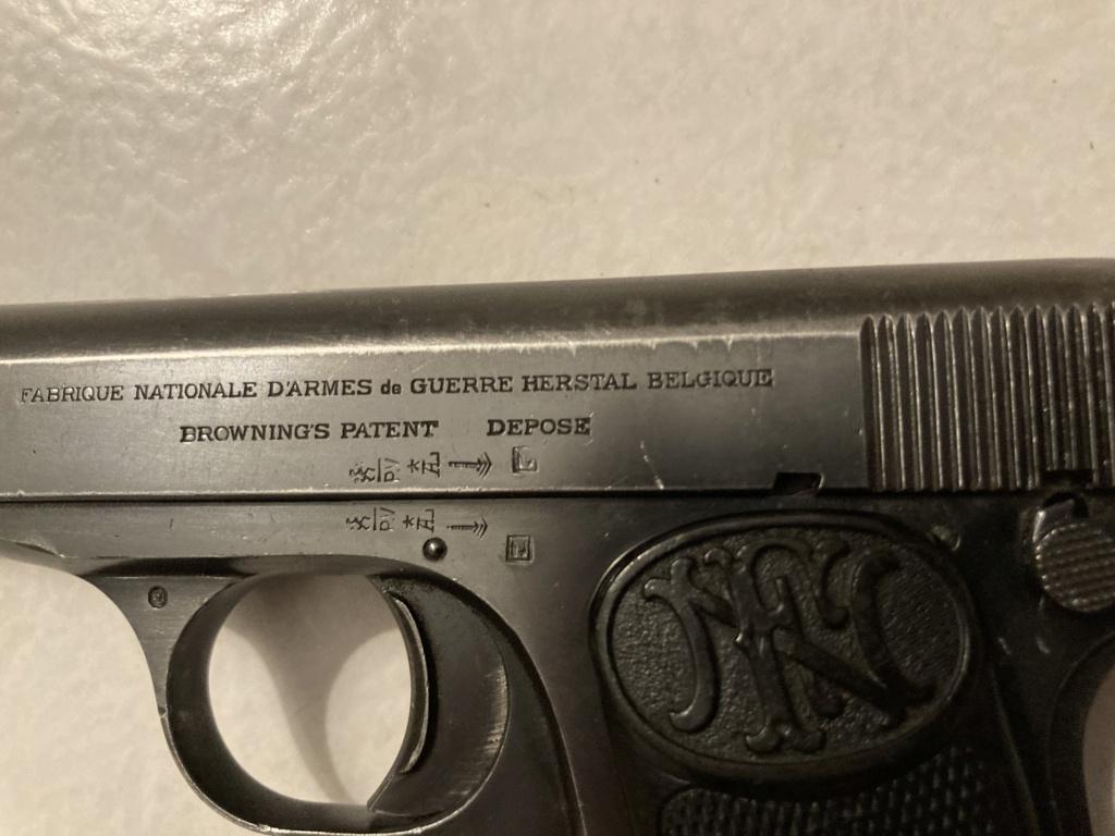 Identification BROWNING 1910 91f73710