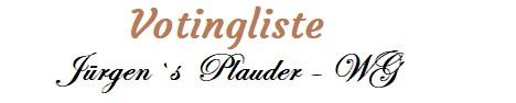 Besucher Voting der Plauder - Community - Die betreute Topliste für eure Forenbanner.