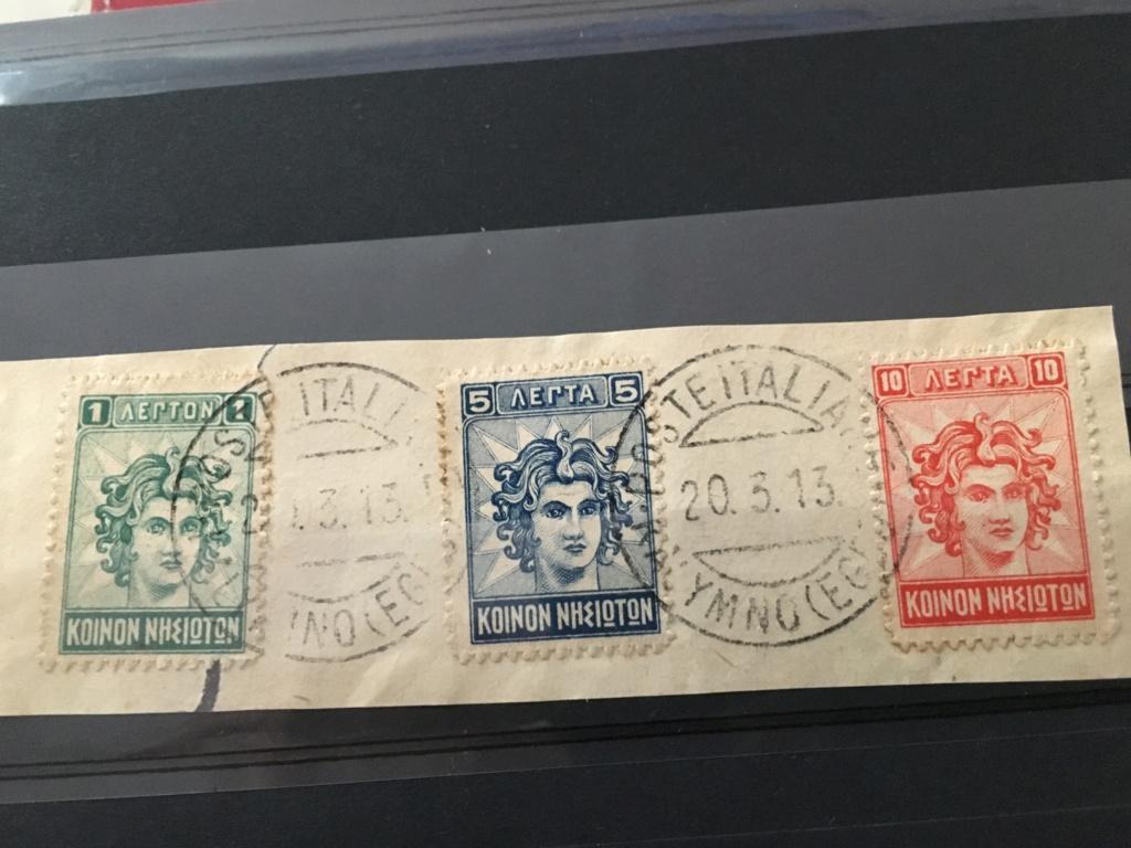 Cachet italien sur timbres de Grèce!  Img_5311