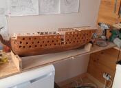 HMS Victory (bois & impression 3D) de sworkz 88210