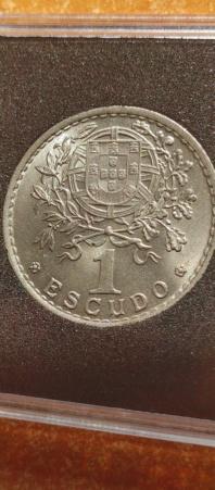 1 Escudo 1951 (República Portuguesa) 20210814