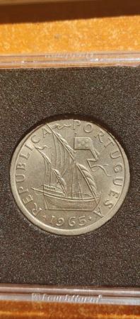 5 Escudos 1965 (República Portuguesa) 20210818