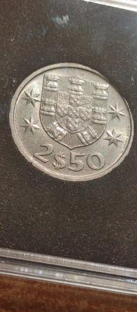 2,50 Escudos 1985 (República Portuguesa) 20210821