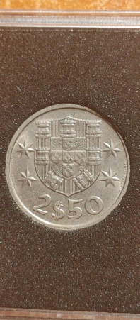 2,50 Escudos 1985 (República Portuguesa) 20210822