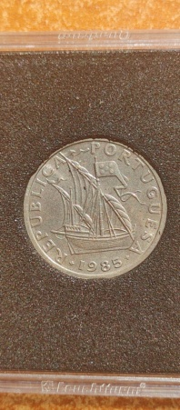 2,50 Escudos 1985 (República Portuguesa) 20210823