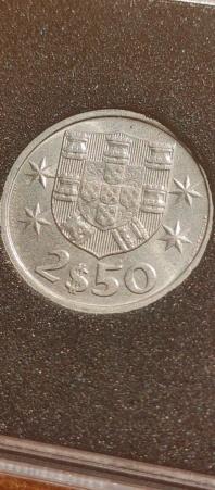 2,50 Escudos 1985 (República Portuguesa) 20210824