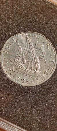 2,50 Escudos 1985 (República Portuguesa) 20210825