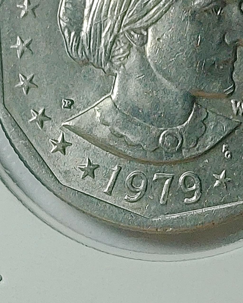 ONE DOLLAR (USA) 1979 - Susan B. 20210843