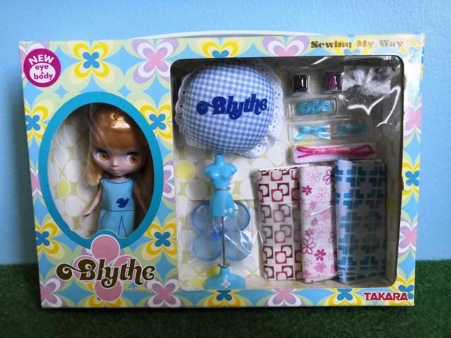 [vente] Mini Blythe Takara japon sewing my way NEUVE Img_2128
