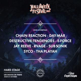 Halloween Festival 2019 - Jeudi 31 octobre 2019 - Les Docks de Paris - Aubervilliers Hf19-p11