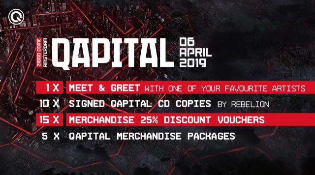 QAPITAL - 06 Avril 2019 - Ziggodome - Amsterdam - NL Qapita10