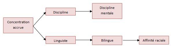 Aptitudes mentales et d'apprentissage de nouvelles langues Langue10