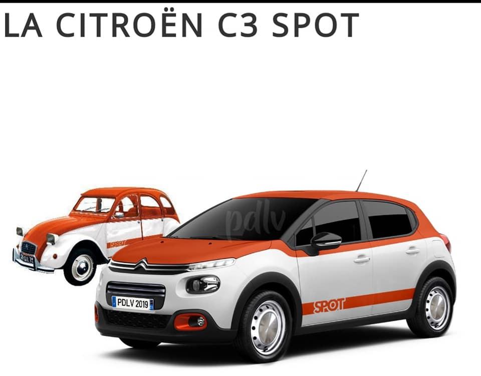 8 Citroën C3 pour rendre hommage à la 2CV  612