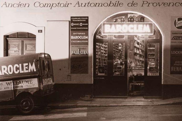 Photos et cartes postale 2cv camionnette  - Page 13 Barocl10