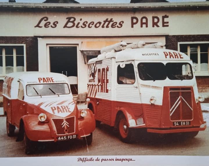 Photos et cartes postale 2cv camionnette  - Page 16 Biscot10