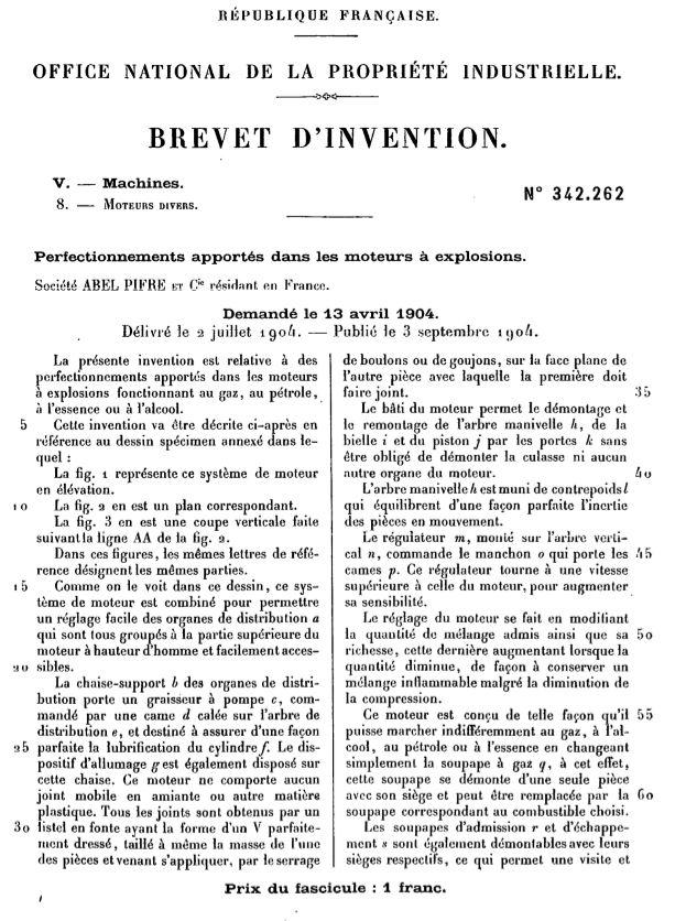 moteur - Cartes postales anciennes (partie 2) - Page 4 Brevet10