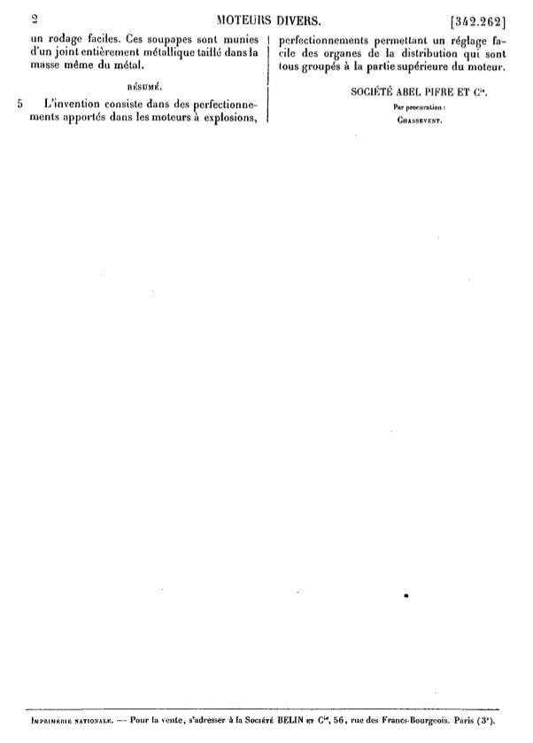 moteur - Cartes postales anciennes (partie 2) - Page 4 Brevet11