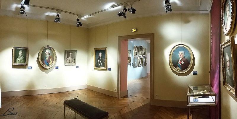 """Musée Lambinet : Exposition """"Cent portraits pour un siècle"""" 6b10"""