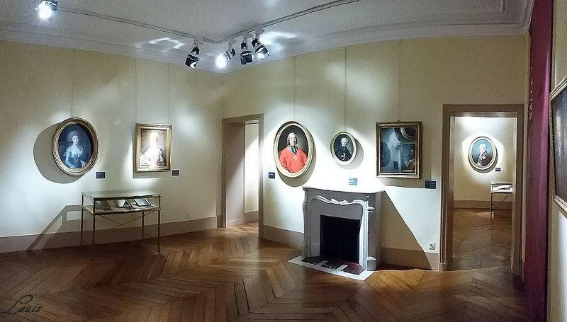 """Musée Lambinet : Exposition """"Cent portraits pour un siècle"""" 7b10"""