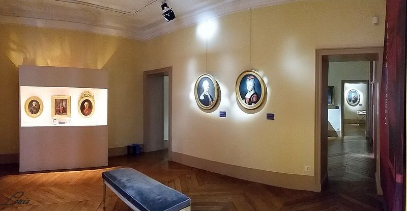 """Musée Lambinet : Exposition """"Cent portraits pour un siècle"""" 8b10"""