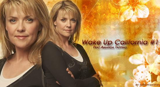 Wake Up California #1 : Feat Amanda Tapping Blend-10