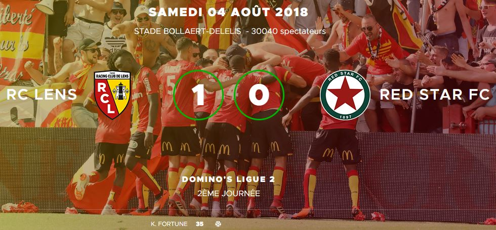 [Ligue 2 - J2] Rc Lens - Red Star FC Lens_r10