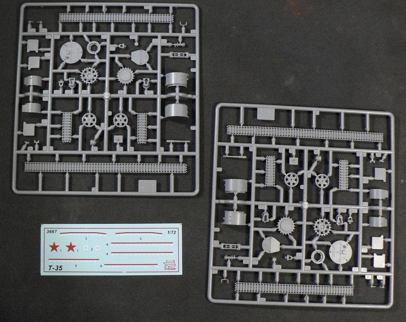 Ouverture de boite: T35 Zvezda 0-417110