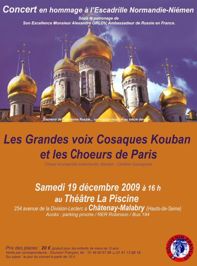 Un succès pour le concert en l'honneur du Normandie-Niemen Concer10