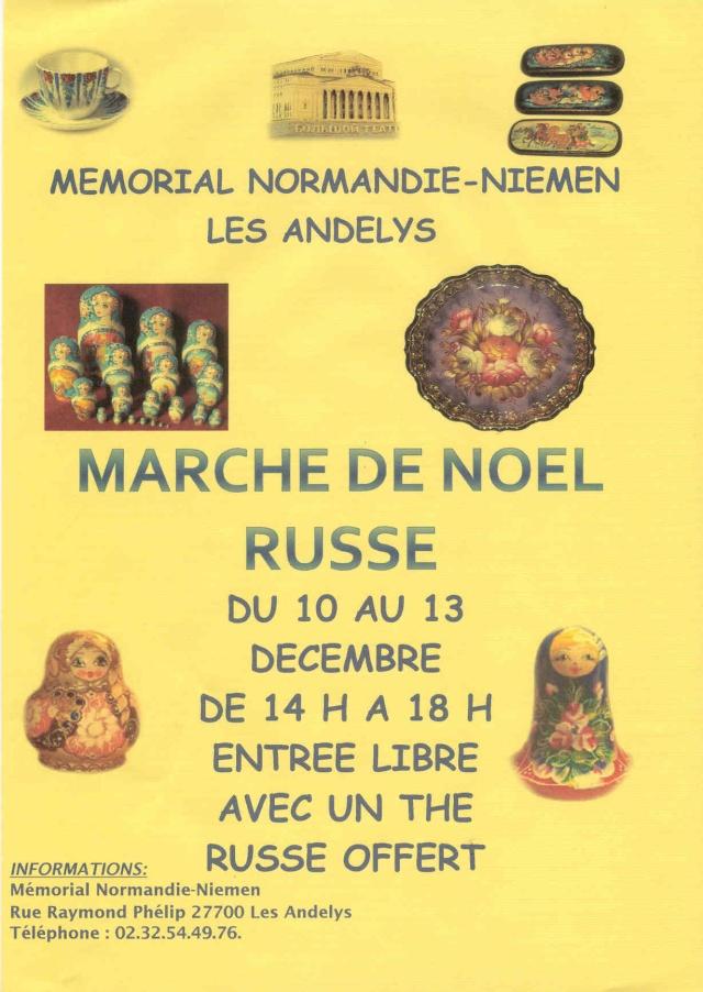 MARCHE DE NOEL RUSSE 2009 Marcha10