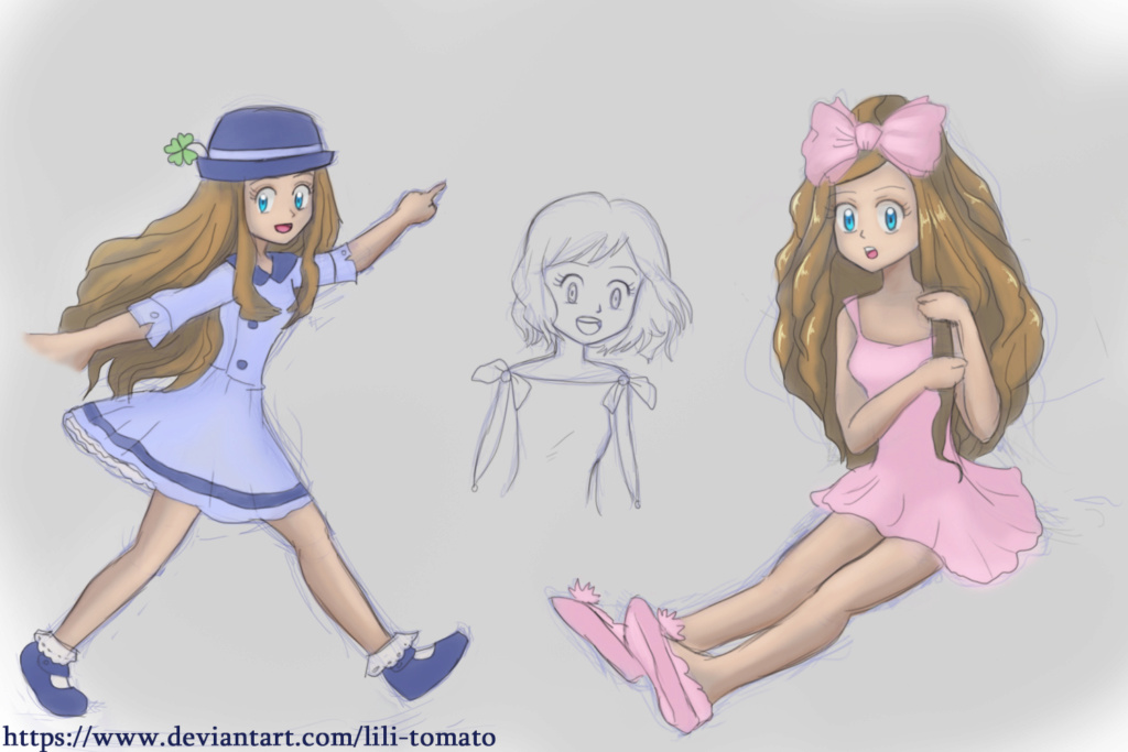 Mes nouveau dessins, et croquis - Page 21 Serena10