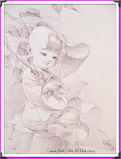 Chú Tiểu và Thư Pháp - Page 2 5888e610