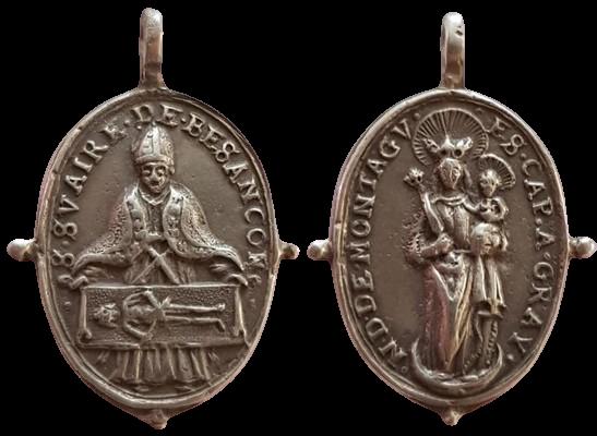 Sudario Besançon- notre dame de Montaigu-Gray XVII 11759010