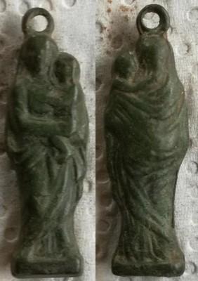 Figurada Virgen con Niño S-XIX 1551_x10