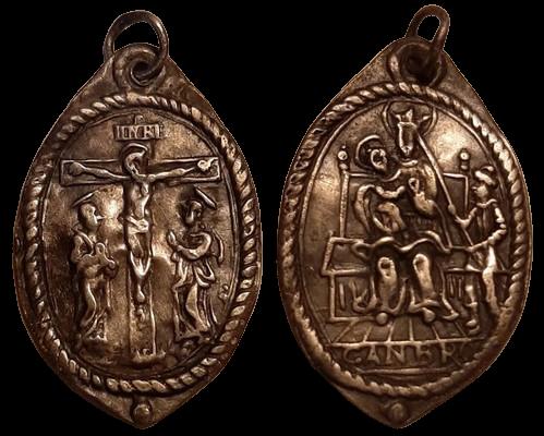 scene de la crucifixion - nuestra de Cambron XVI-XVII (R.M. SXVII-O522) (AM) 236_sc10