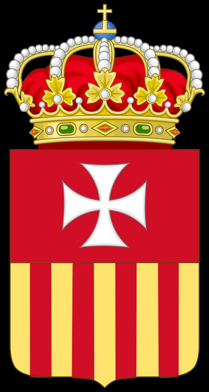 medaille du XVII saint Raymond Nonat-Ecu emblème ordre des mercèdaires 655px-10